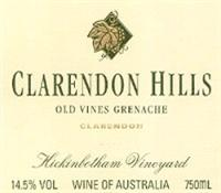 Clarendon Hills Grenache Old Vines Hickinbotham